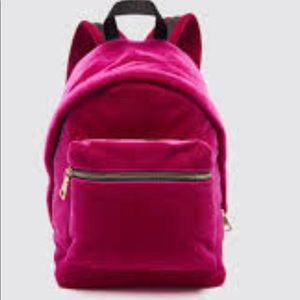 SANDRO Velvet backpack NEW